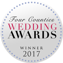 Four Counties Wedding Awards Winner 2017