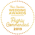Four Counties Wedding Awards - Highly Commended