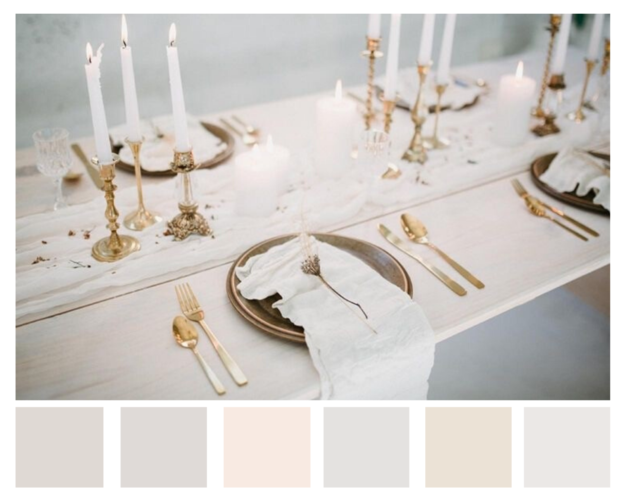 A mix of neutral tones oozes a simple elegance
