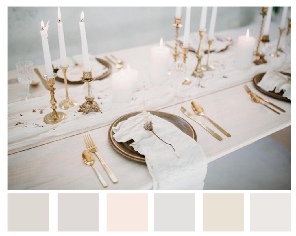 Neutral colour scheme