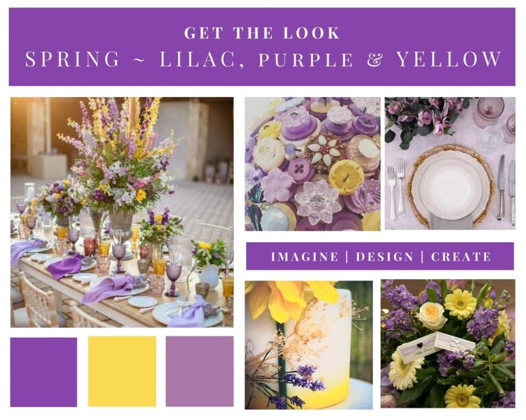Spring – Lilac, Purple & Yellow
