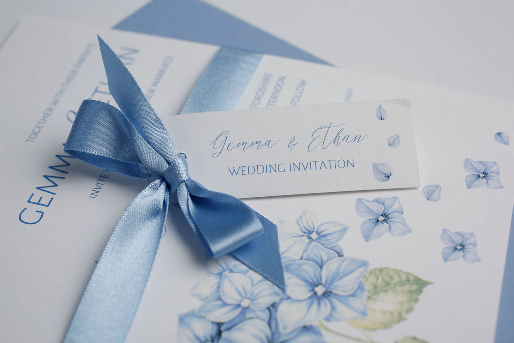 Blume wedding stationery - Tiggity Boo House Collection